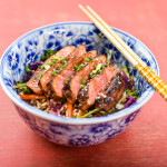 Sesame, Dark Soy and Togarashi Seared Tuna