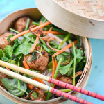 Vietnamese Meatball and Noodle Salad