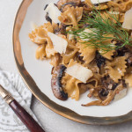 Sambal Spiced Porcini and Mixed Mushroom Farfalle