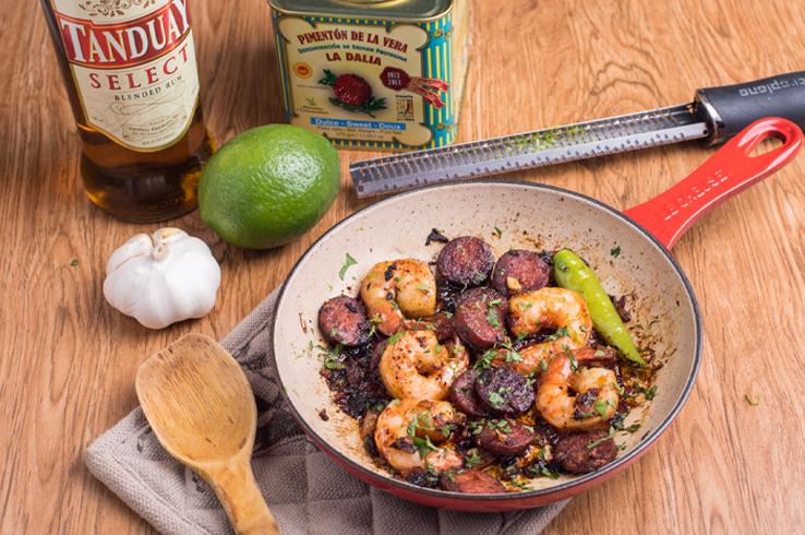 shrimp chorizo 2