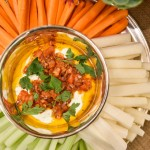 Harissa Spiced Feta Yogurt Dip