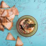 Homemade Pita Crisps