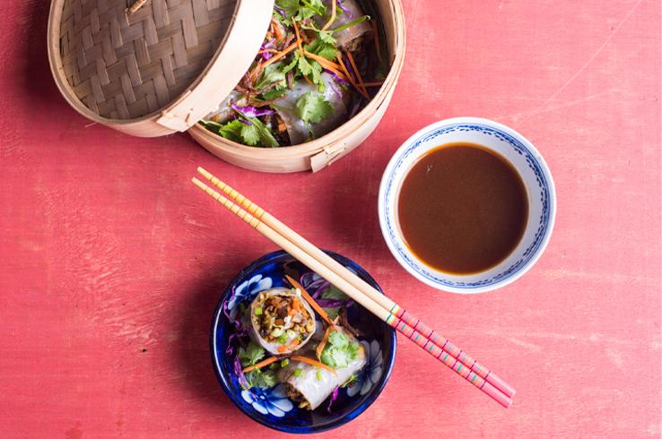 vegetable rice rolls