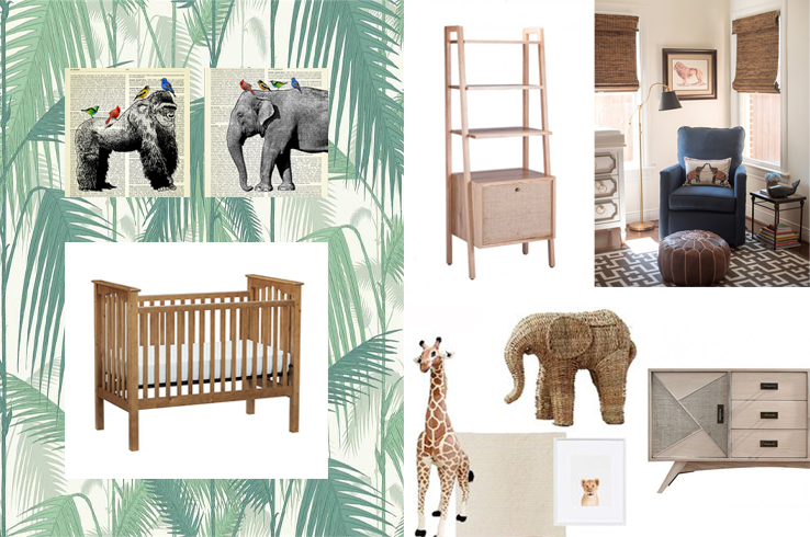 Maxi's room mood board