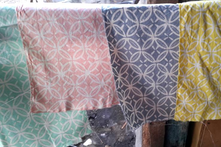 duduk batik fabric